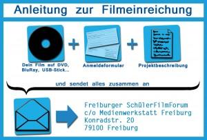 Förderpreis Schulische Videoarbeit - Film einreichen Erklärung