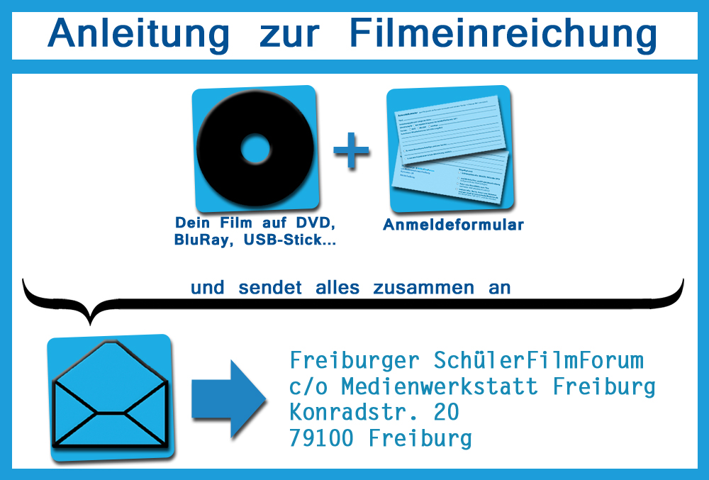 RVF-KurzFilmWettbewerb Filmeinreichung